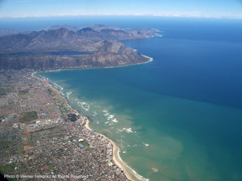 False Bay - Strand coastline